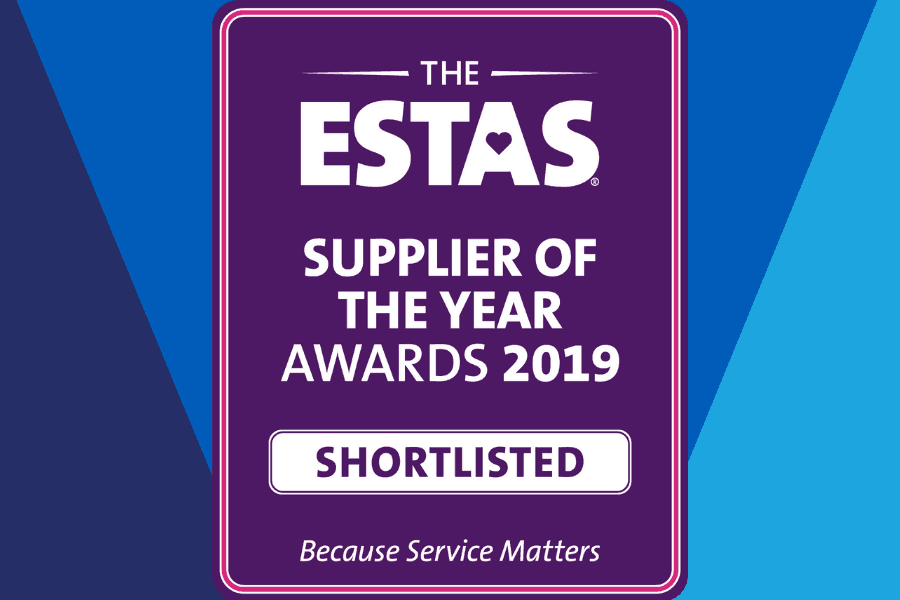 ESTAS Supplier of the Year Awards 2019 Shortlisted