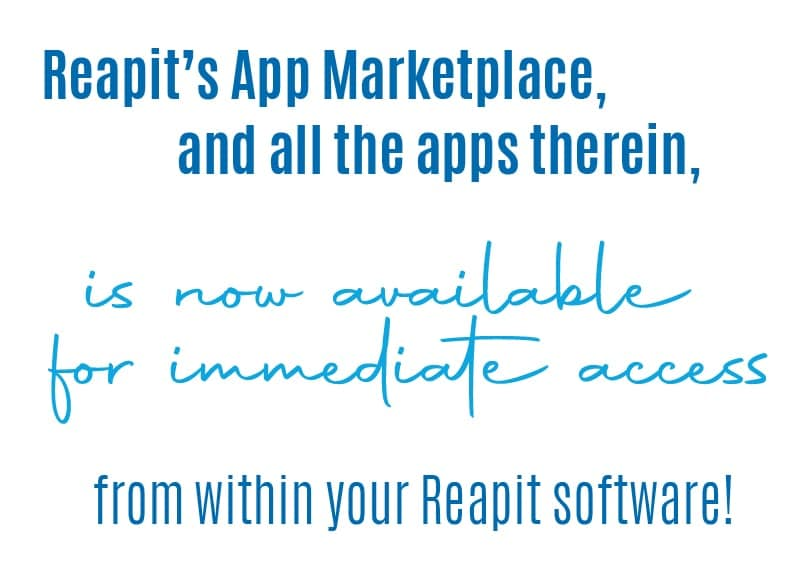Reapit's App Marketplace, and all the apps therein, is now available for immediate access from within your Reapit software!