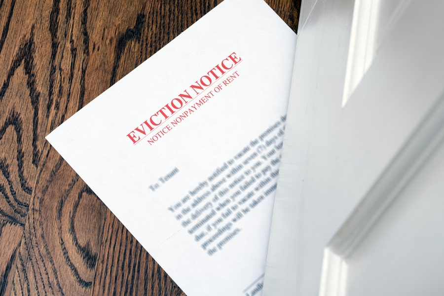 Eviction notice periods in England will return to normal levels from 1 October 2021-min
