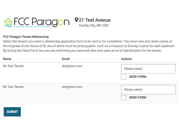 FCC Paragon screen 1