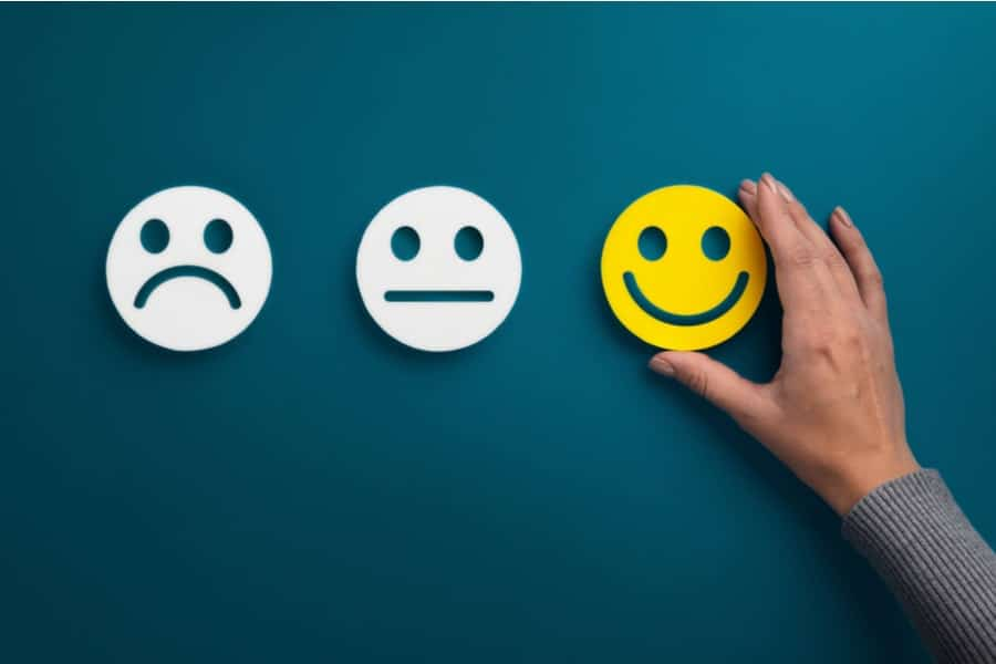 How do tenants rate their experience with their landlord or agency-min