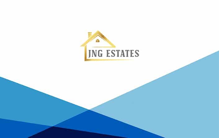 JNG Estates logo template