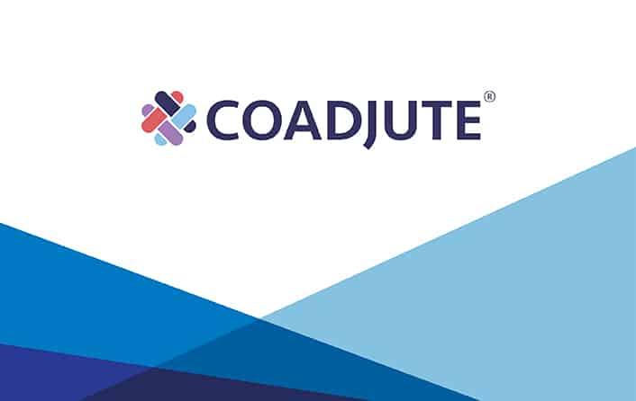 coadjute logo on template