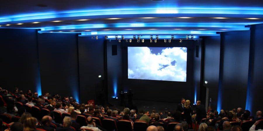 The Crystal Auditorium
