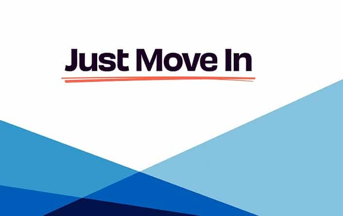 Just Move In Logo Template