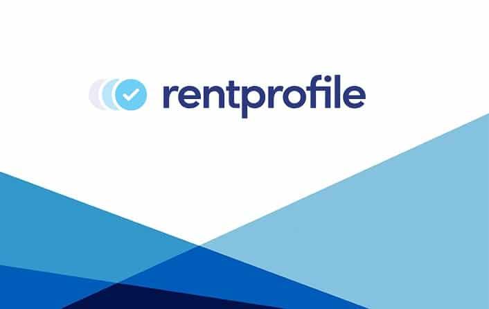 RentProfile logo template